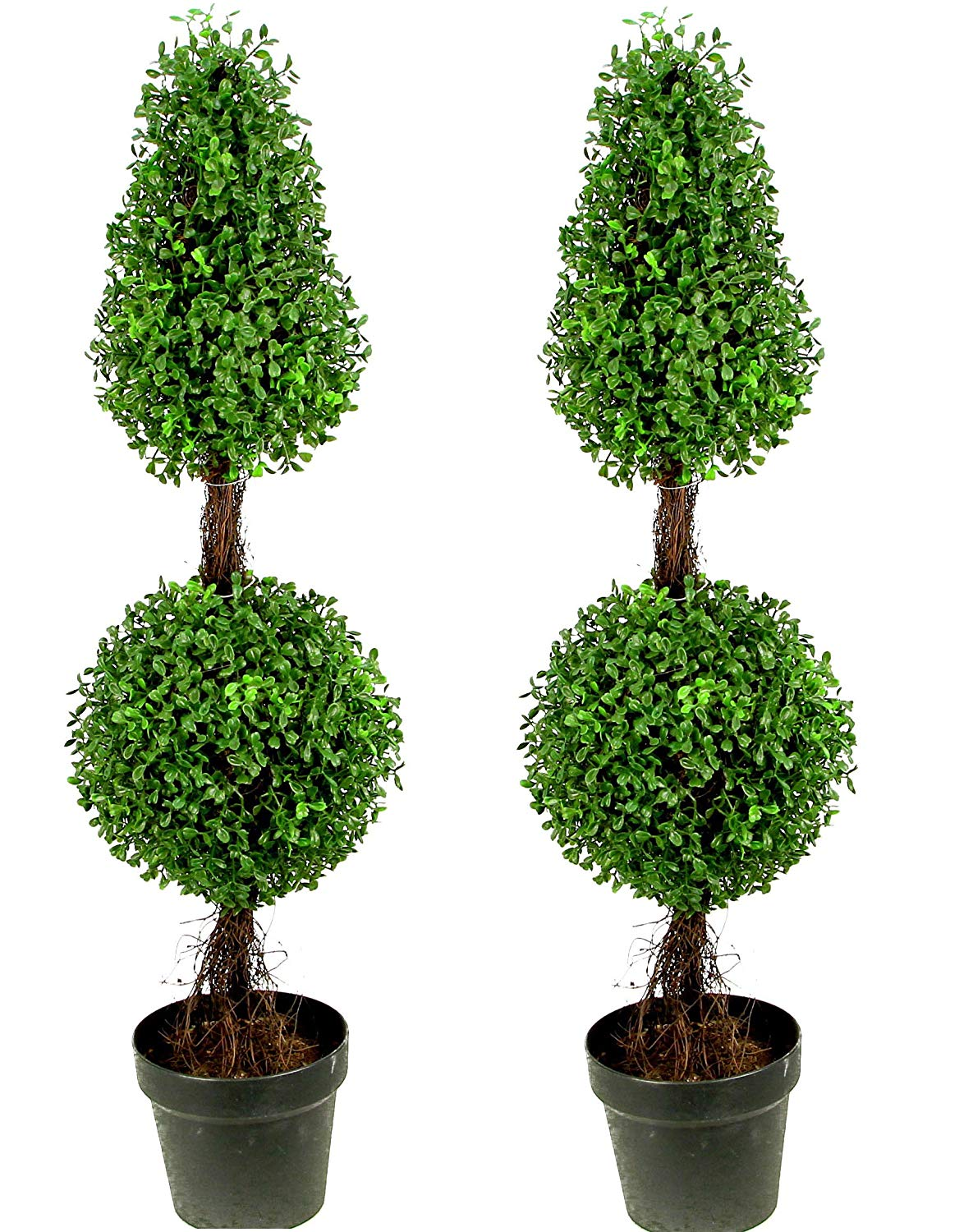 Artificial Boxwood Leave Double Ball Shaped