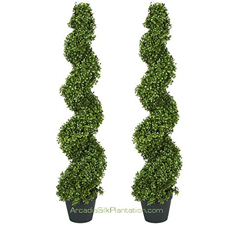 Boxwood Artificial Topiary Trees