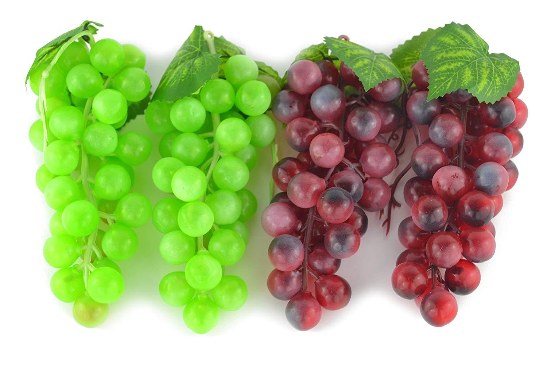 Artificial Green & Purple Grape