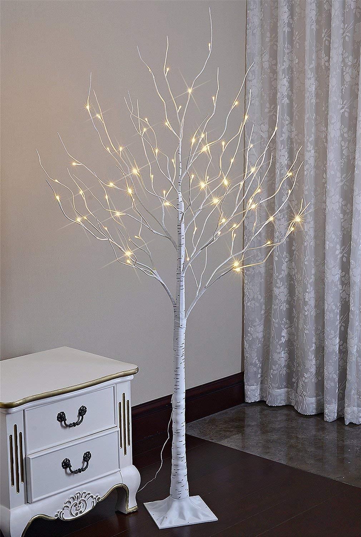 Lightshare 6 Feet Lighted Birch Tree