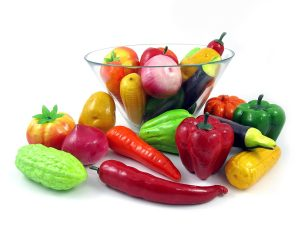 best artificial vegetables for display
