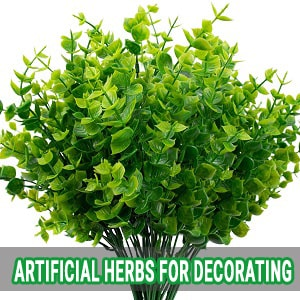 artificial herbs for decorating